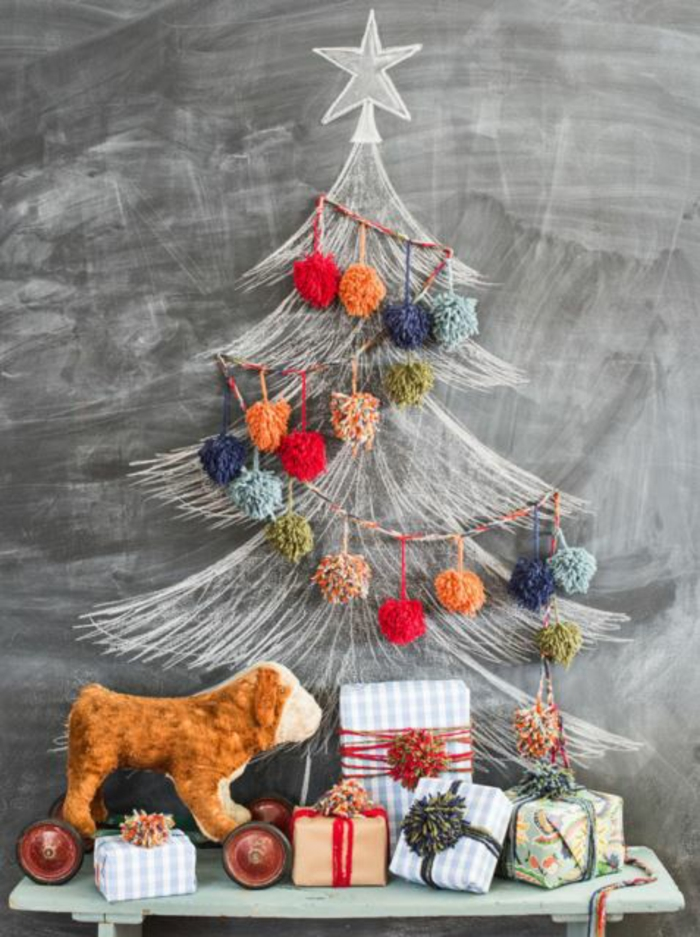 weihnachtsdekoration weihnachtsschmuck weihnachtsdeko kreide