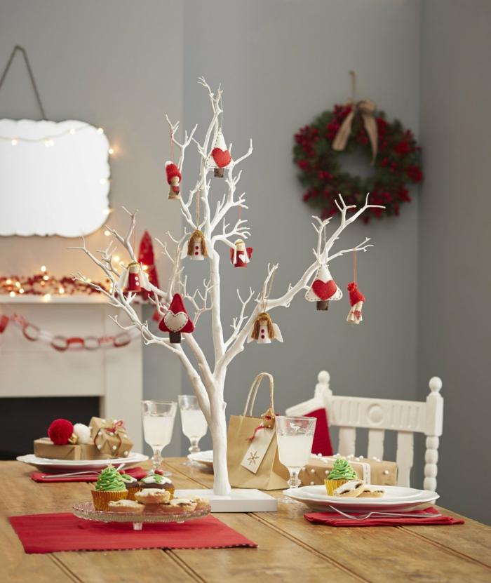 weihnachtsdekoration weihnachtsschmuck weihnachtsdeko baumzweige christbaumschmuck