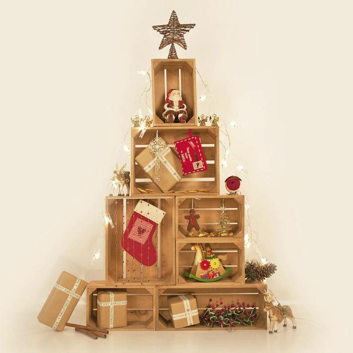weihnachtsdekoration weihnachtsschmuck weihnachtsdeko weinkisten