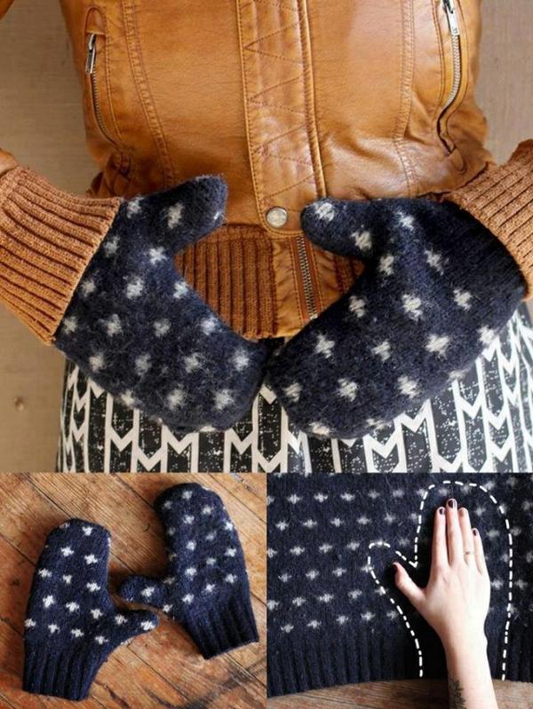 wintermode handschuhe selber basteln