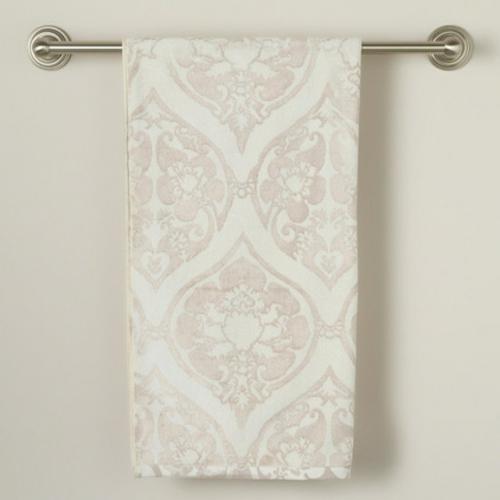 wohnaccessoires traditionell gemustertes handtuch