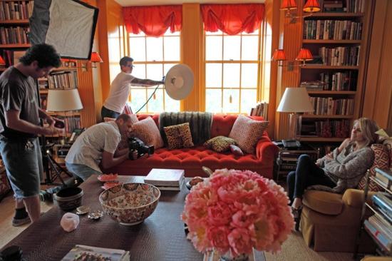 wohnzimmer tory burch designer foto elegant wohnung