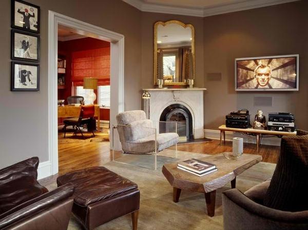 wohnzimmergestaltung mit schwung 20 moderne. Black Bedroom Furniture Sets. Home Design Ideas
