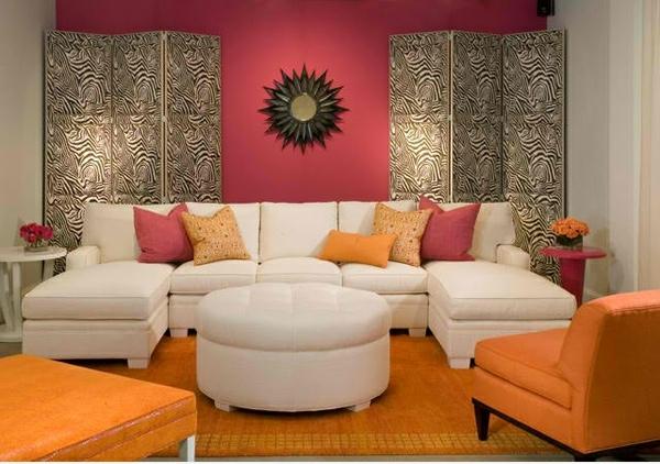 Wohnzimmergestaltung mit schwung moderne