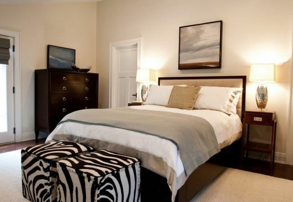 zebrastreifen quadratisch sitzkissen schlafzimmer bettwäsche