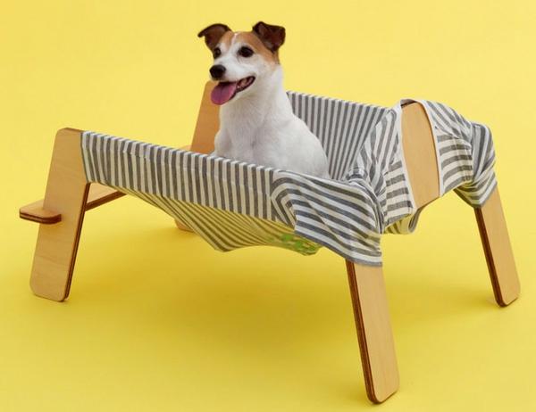 Architektur für Hunde originell ausgedacht betten hängematte