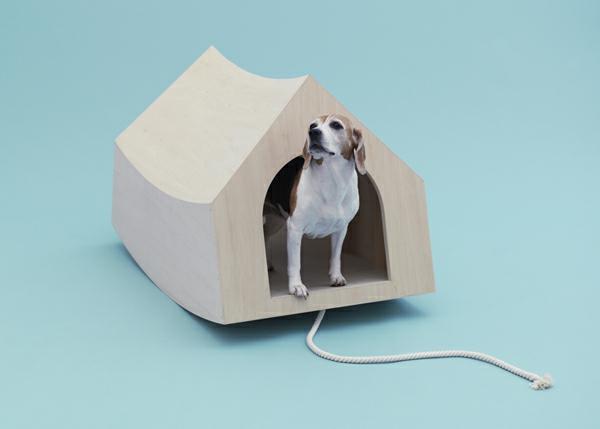 Architektur für Hunde originell ausgedacht holz haus
