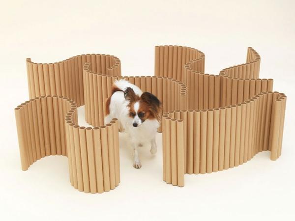 Hunde originell bühne spiel haustier holz rohren Architektur