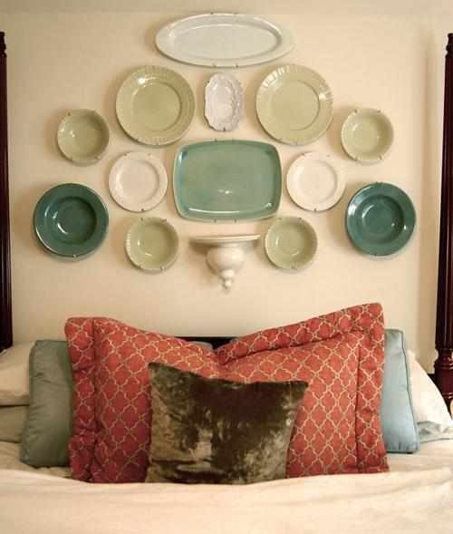 Bastelideen und Bastelmaterialien für Sie wanddeko teller keramisch