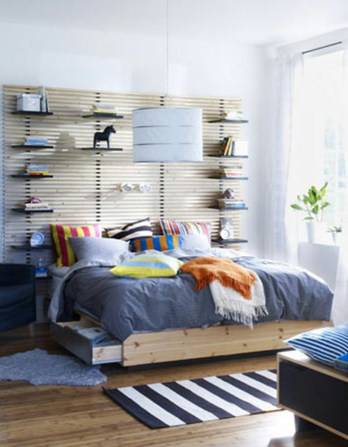 DIY Ideen und Bastelmaterialien für Sie wandregale kopfteil gehängt