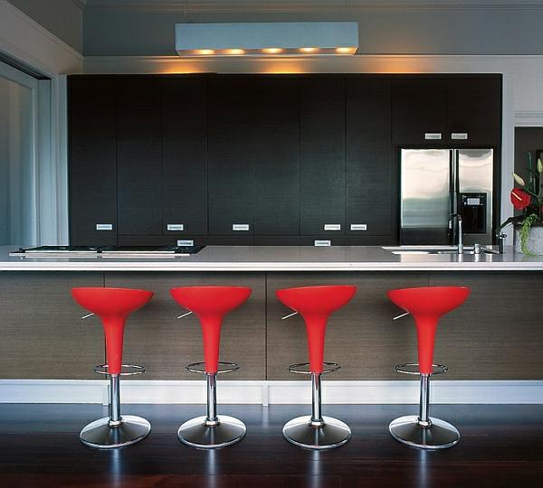 56 trendy barhocker und k chenhocker die ihre moderne. Black Bedroom Furniture Sets. Home Design Ideas