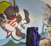 CT Scanner in einer Kinderklinik in New York – ein Design im Piratenstil