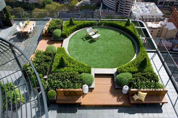 Coole Ideen für  erstaunliche Dachterrasse city zufluchtsort