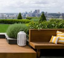 Coole Ideen für erstaunliche Dachterrasse – ein richtiger Zufluchtsort –