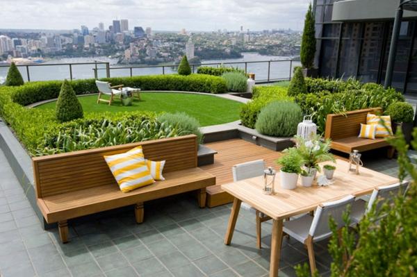 Coole Ideen für erstaunliche Dachterrasse - ein richtiger Zufluchtsort