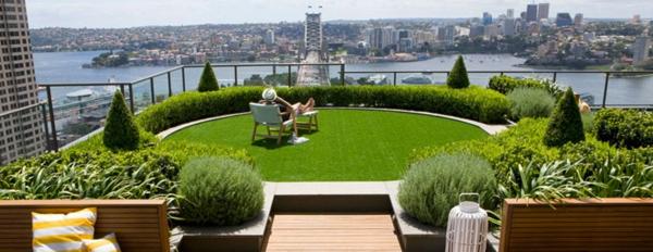 Coole Ideen für erstaunliche Dachterrasse stadt