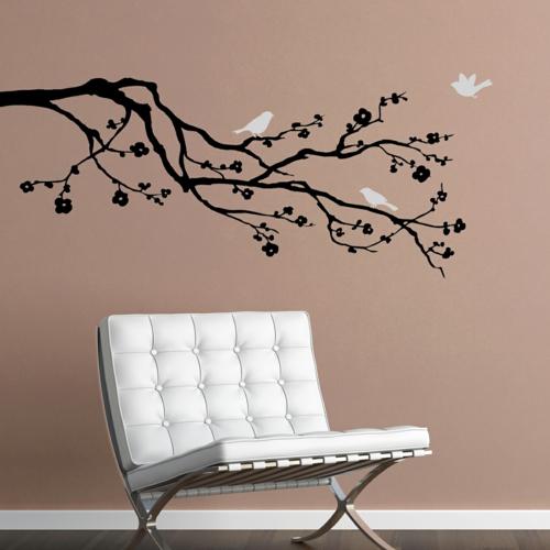 coole wandtattoos erfrischen ihre wohnung. Black Bedroom Furniture Sets. Home Design Ideas