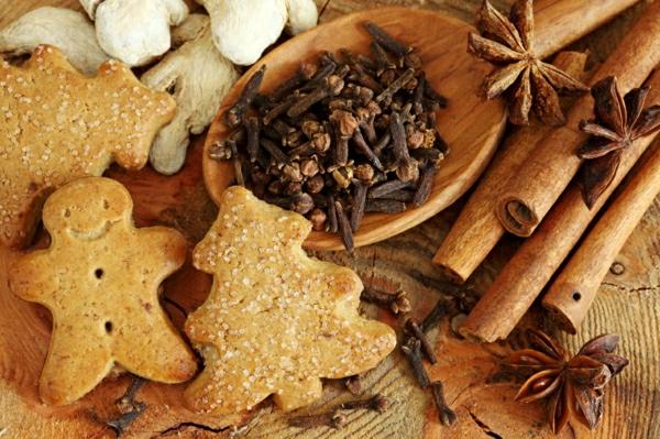weihnachten plätzchen gebacken braun lecker froh