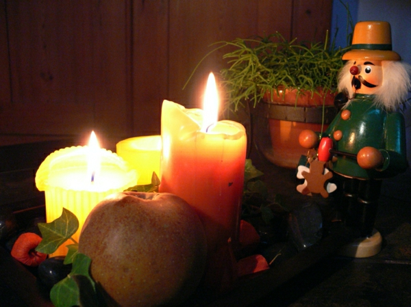 Coole Weihnachtsdeko und Weihnachtsbeleuchtung rauchermann