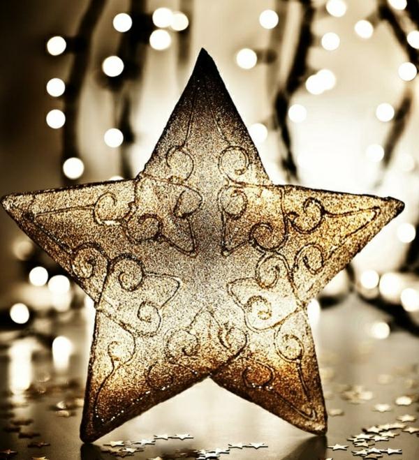 Coole Weihnachtsdeko und Weihnachtsbeleuchtung stern