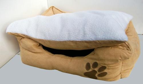 Cooles Hundebett  eigenartig tiermuster auflagen