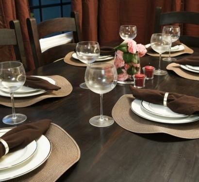 10 Diy Bastelideen Fur Festliche Tischdeko