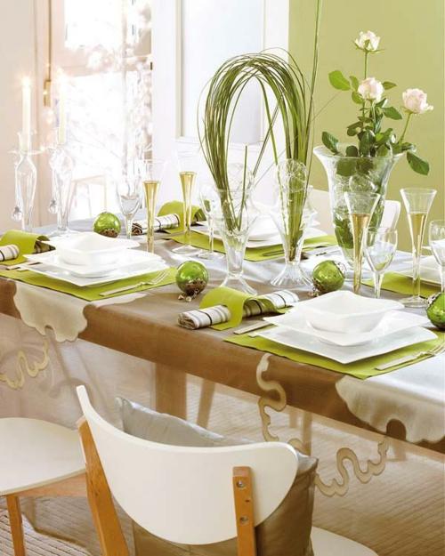 10 DIY Bastelideen für festliche Tischdeko
