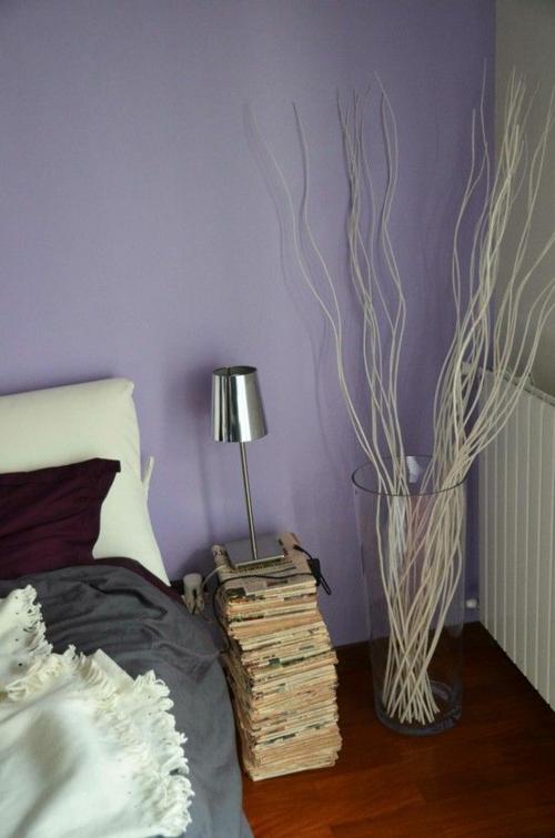 diy dekoration aus zeitung die wohnung auf kreative. Black Bedroom Furniture Sets. Home Design Ideas