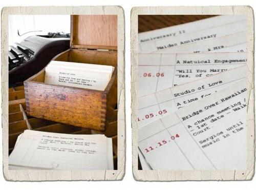 Geschenkideen zum Valentinstag briefe schubladen holz DIY