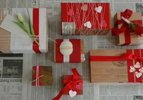 Geschenkideen zum Valentinstag geschenkverpackungen DIY