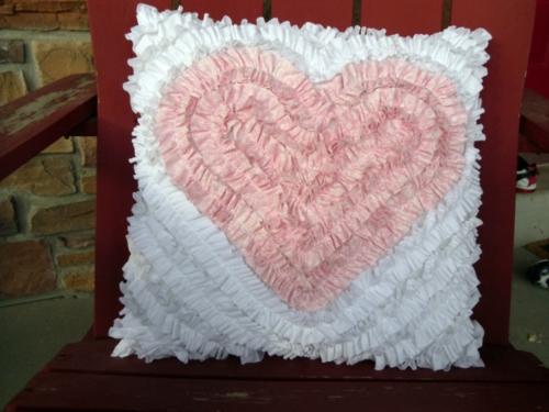 DIY Valentinstag Geschenke und Deko kissen