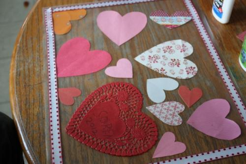 DIY Valentinstag Geschenke und Deko papier
