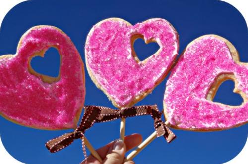 DIY Valentinstag Geschenke und Deko süßigkeiten