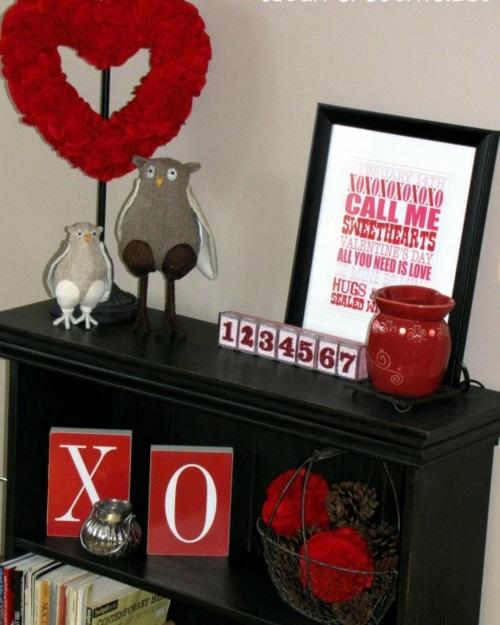 DIY Valentinstag Geschenke und Deko thematisch
