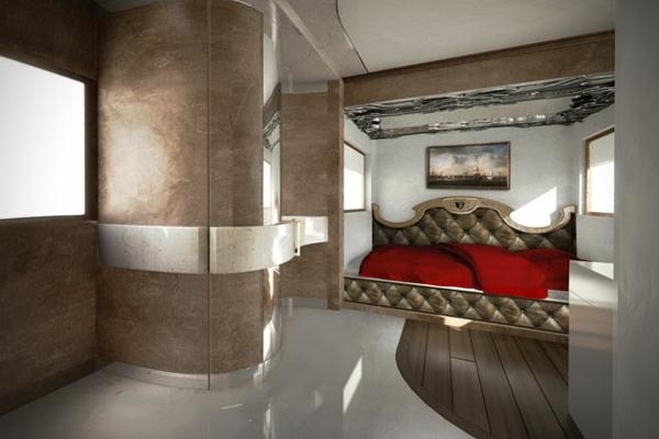 Das teuerste Wohnmobil der Welt luxus inneres bett