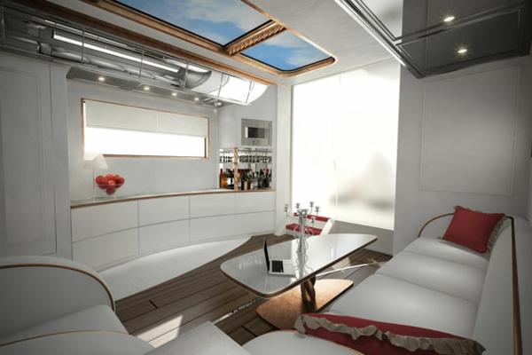 Das teuerste Wohnmobil der Welt luxus küche einrichtung