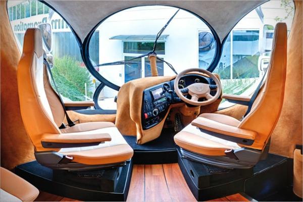 Das teuerste Wohnmobil der Welt orange ausrüstung karosserie