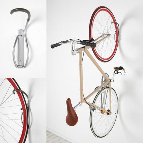 DIY Fahrrad zu Hause richtig aufbewahren aufhänger