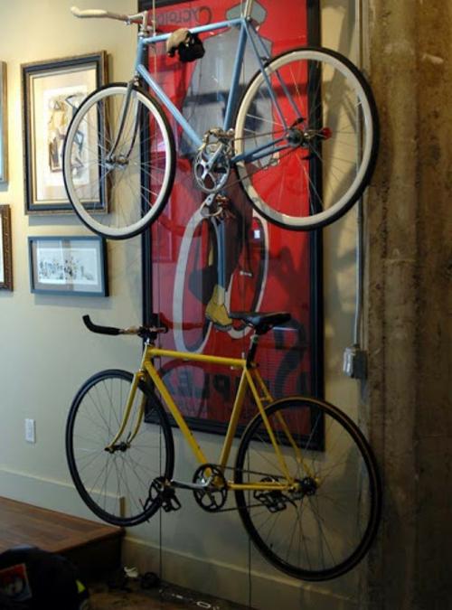 Bevorzugt Das Fahrrad zu Hause richtig aufbewahren BU66