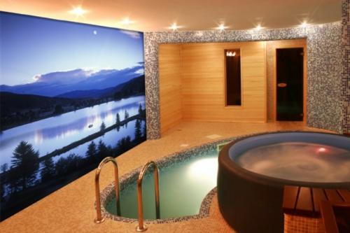 Digitale Fototapeten pool schwimmbecken badezimmer