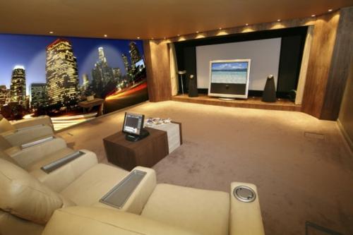 Heimkino Wohnzimmer Kosten Digitale Fototapeten Von Stemik Living Entworfen