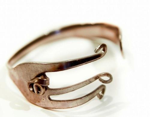 diy Geschenkidee gabel armband