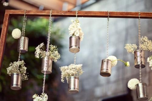 diy Wohnideen hängend garten pflanzen