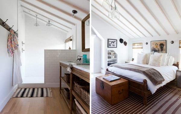 Einrichtungsideen für schöne Möbel & Wohnen dachzimmer rustikal