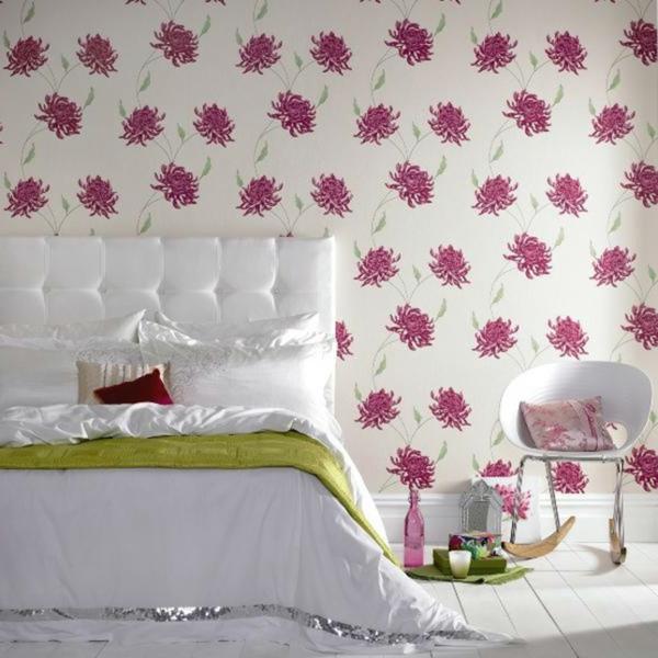 Einrichtungsideen schöne Möbel & Wohnen  floral schlafzimmer