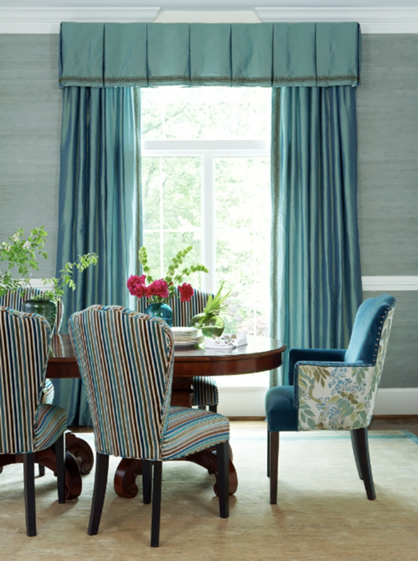 Einrichtungsideen für schöne Möbel & Wohnen gestreift essstühle