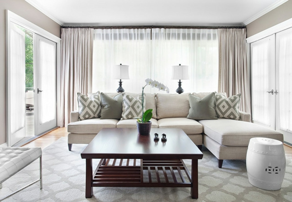 Einrichtungsideen schöne Möbel & Wohnen grau wohnzimmer