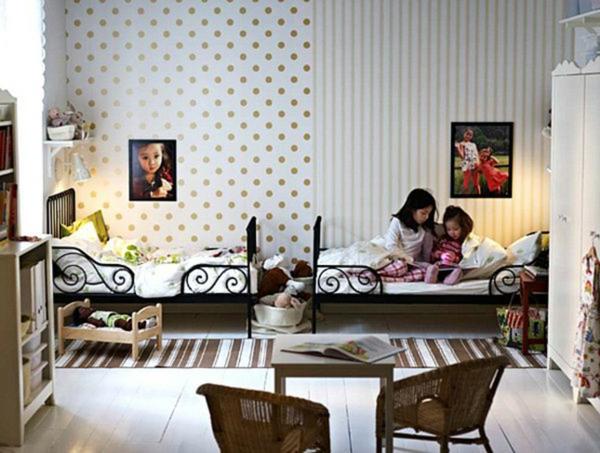 schöne Möbel & Wohnen kinderzimmer getupft