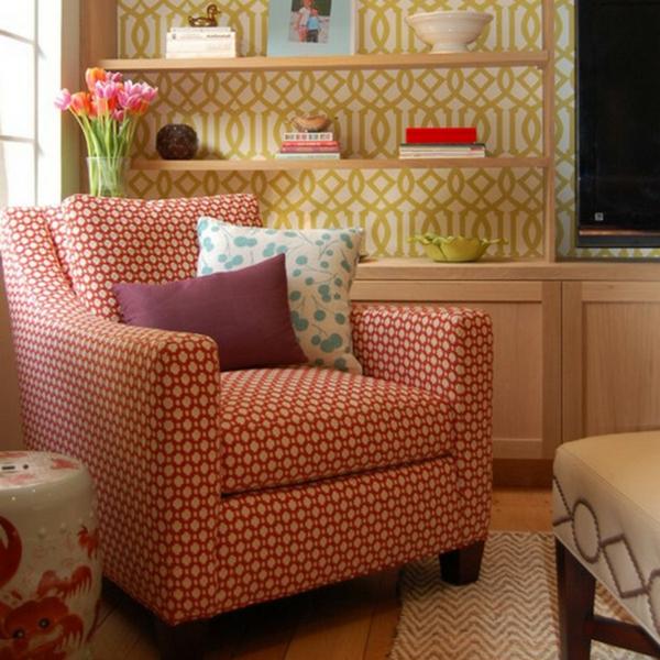 Einrichtungsideen für schöne Möbel & Wohnen muster wurfkissen
