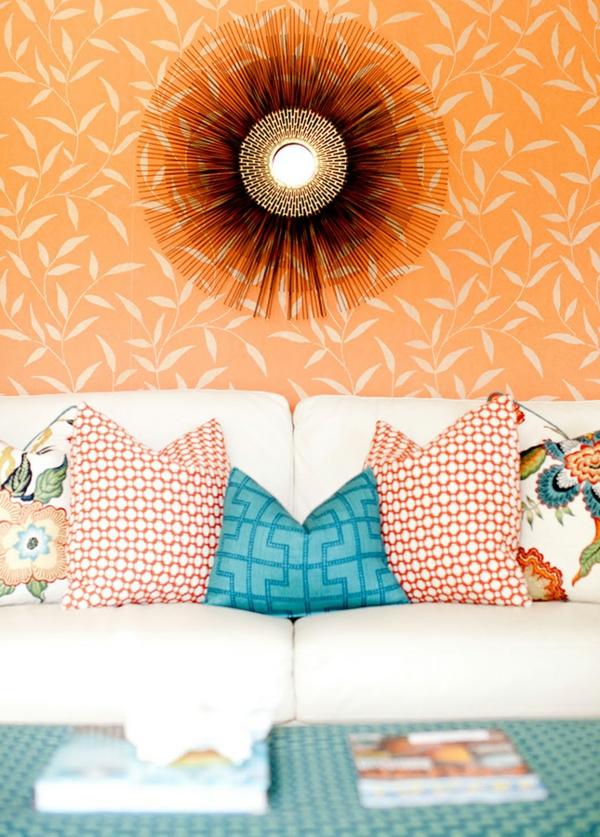 Einrichtungsideen  schöne Möbel & Wohnen spiegel farben